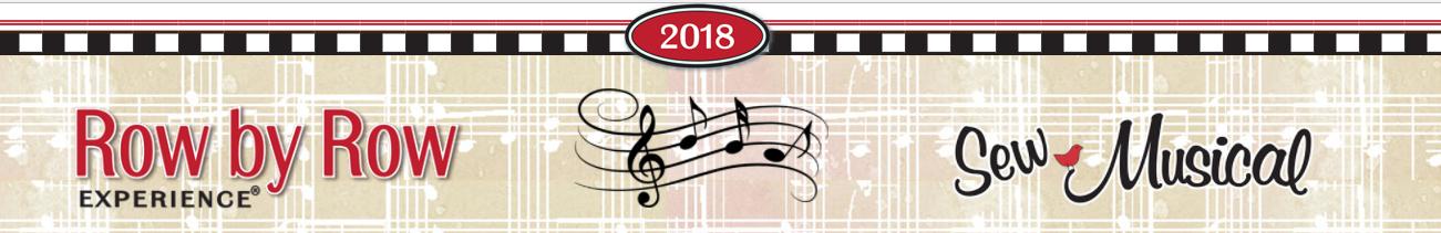 Row by Row Experience 2018