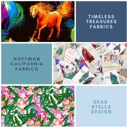 TT Fabrics - Hoffman Fabrics - Dear Stella
